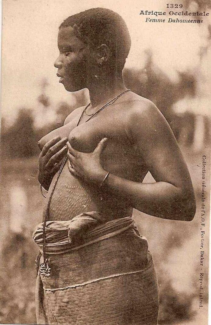 1920. Девушка из Французской Западной Африки