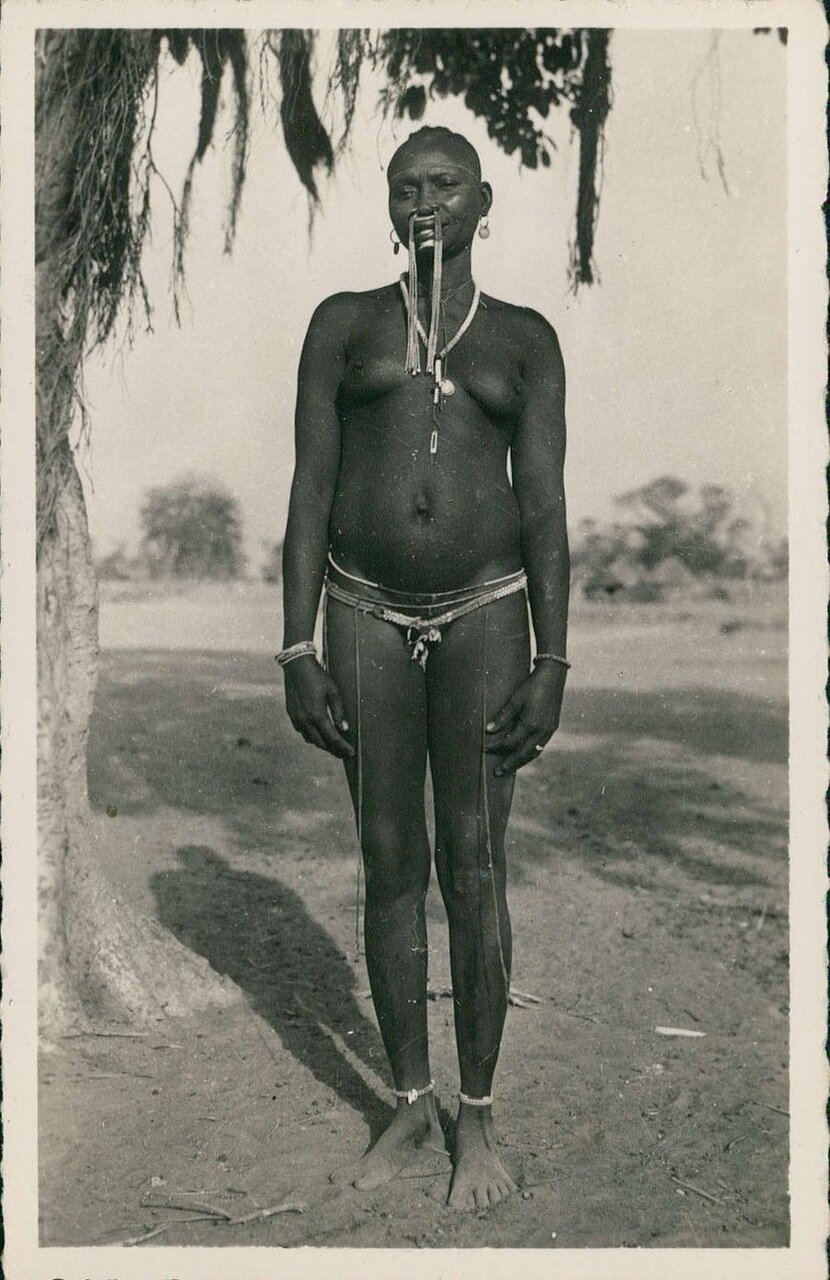 1950-е. Французская Экваториальная Африка