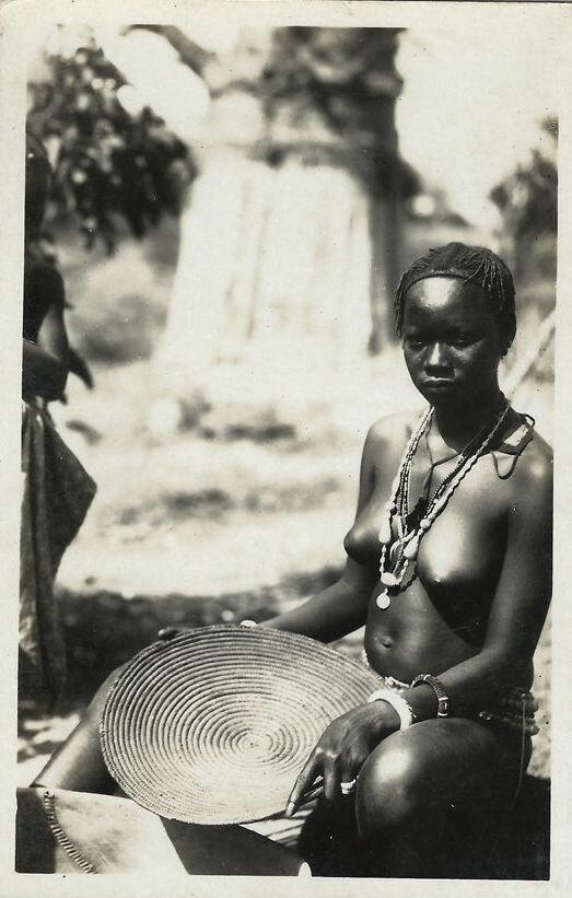 1960-е. Девушка из Португальской Гвинеи