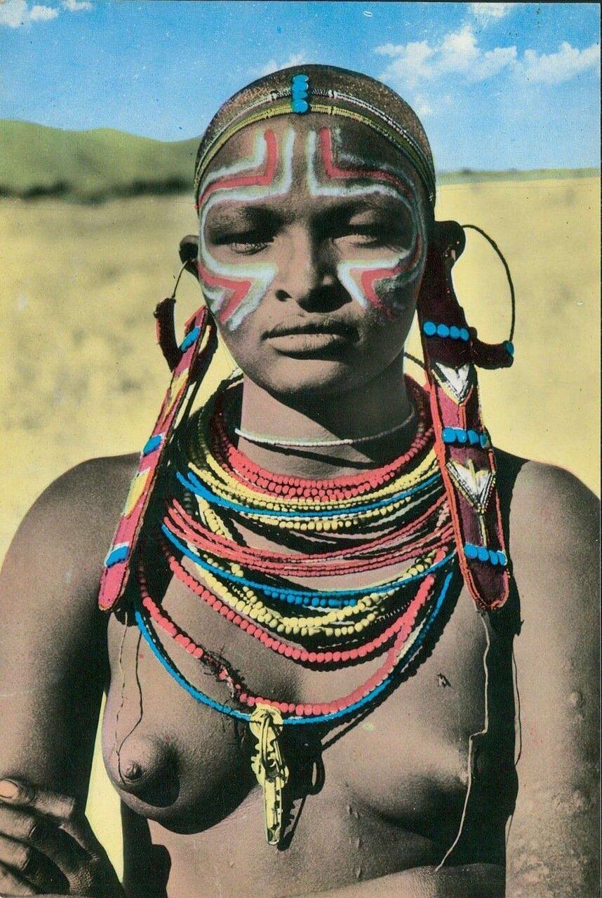 1960-е.Девушка из Кении