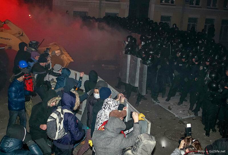 Забастовки на Украине за интеграцию с Евросоюзом доходят до маразма