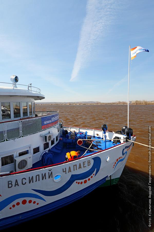 теплоход «Василий Чапаев» в Казани