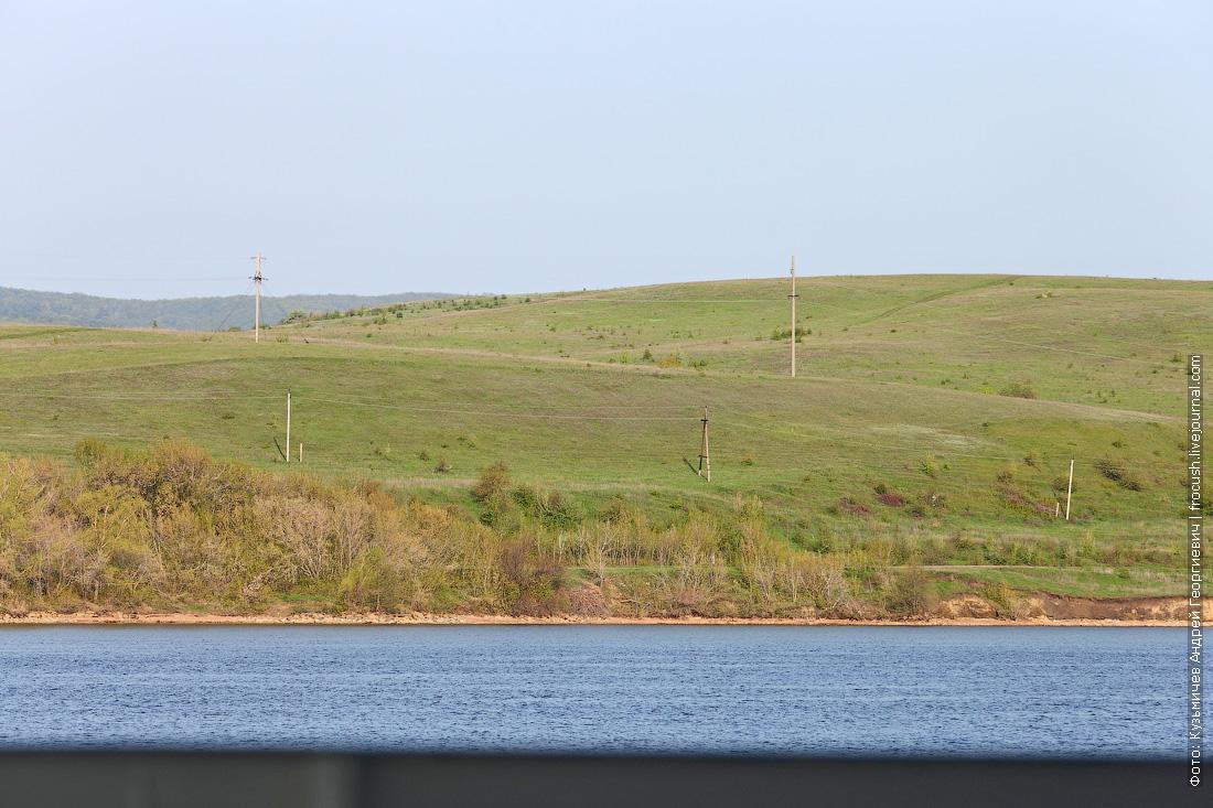 берег Саратовского водохранилища