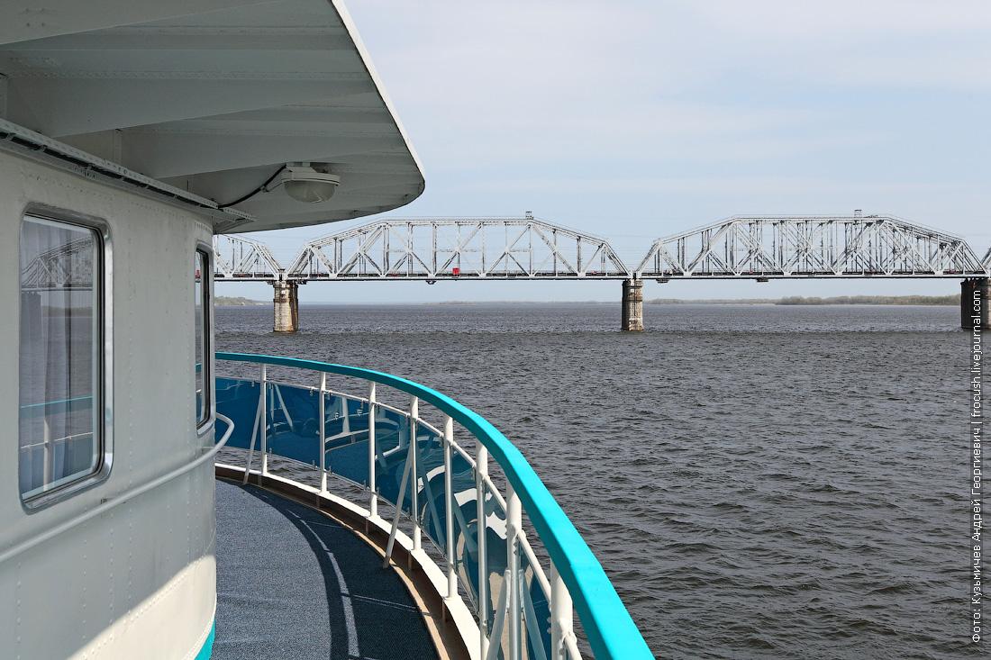 Сызранский (Александровский) мост через реку Волгу