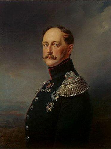 .Портрет Николая I 1852г.Крюгер, Франц (1797-1857)