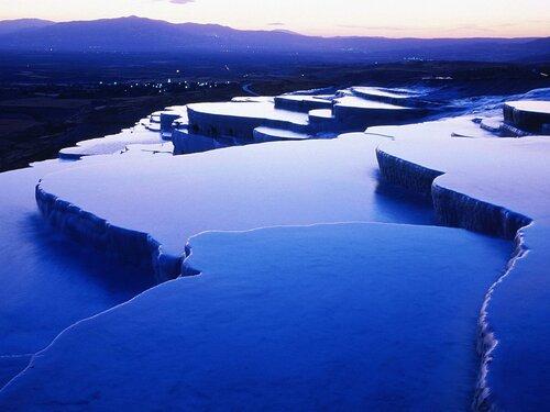 Геотермальные источники в Памуккале
