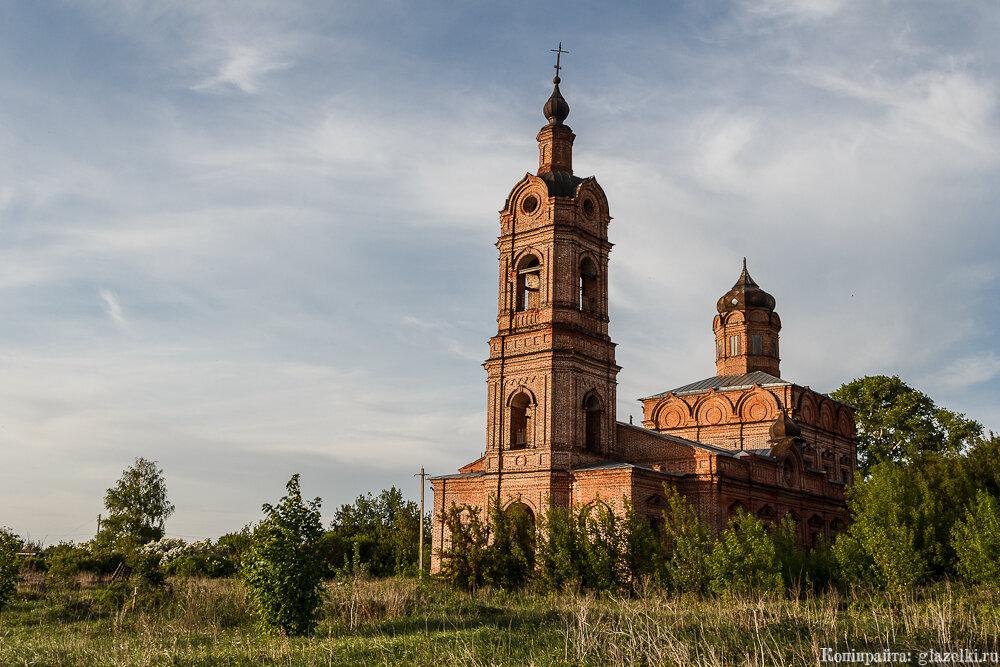 Тихий Плес. Церковь Ризоположения.