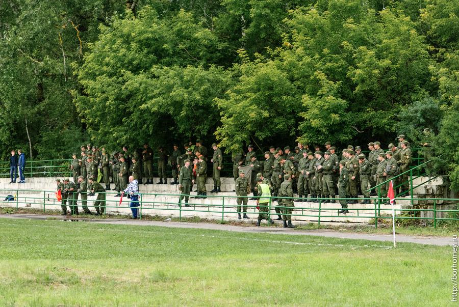 солдаты саровской дивизии на футболе