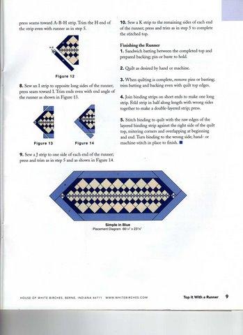 лоскутные салфетки