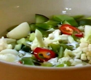 Овощная смесь для пиккалили