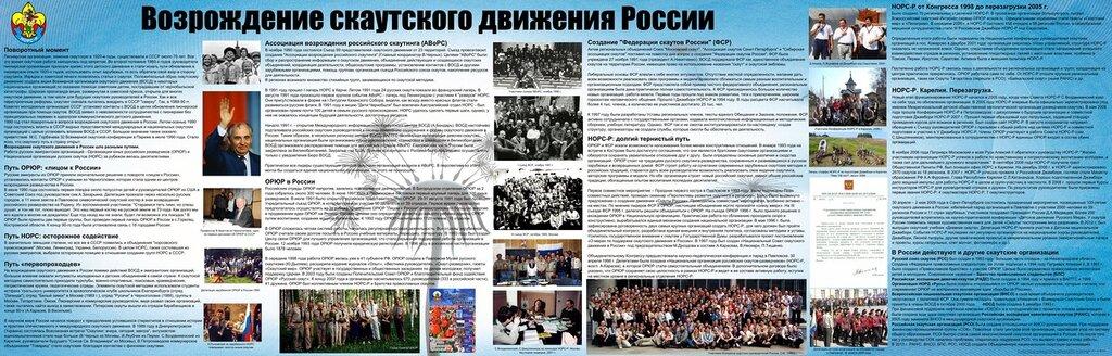 Возрождение скаутского движения в России