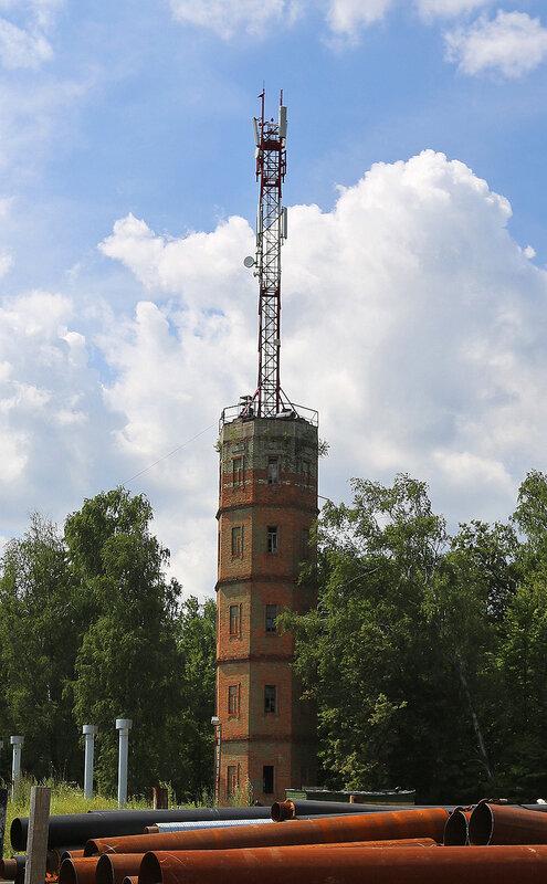 Водонапорная башня усадьбы Липки
