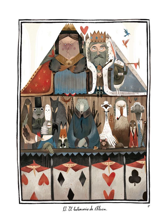Alice au pays des merveilles. Illustrator Júlia Sardà. - Book Graphics