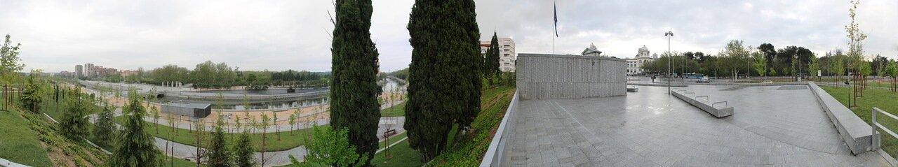 Мадрид. Сады Анисето Маринас (Jardines Aniceto Marinas)