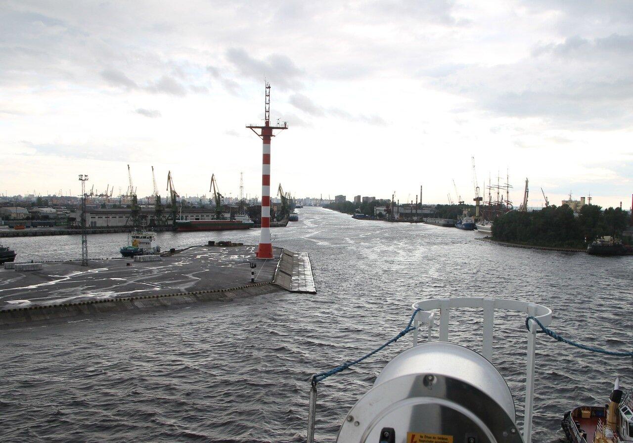 Санкт-Петербург, Морской канал