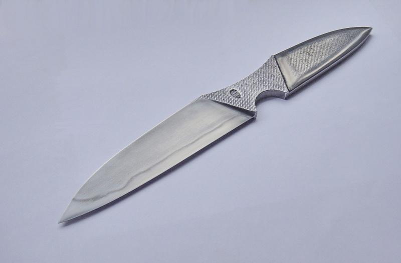 Нож выкованный из штыка трехлинейки…