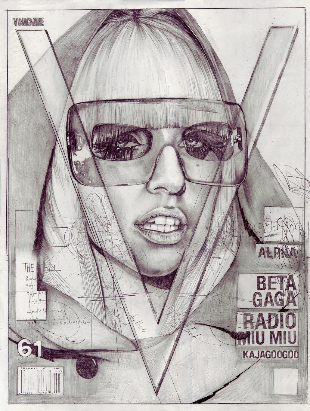 Иллюстрации обложек популярных глянцевых журналов