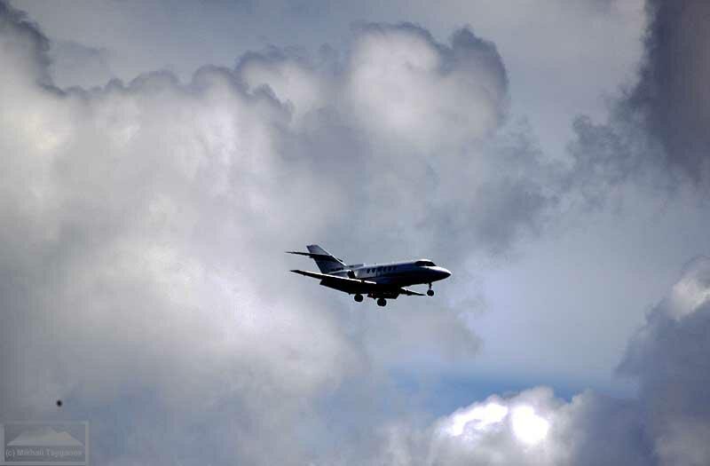 Самолеты в воздухе