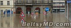 Уровень воды в Чехии падает — Прага выдержала натиск