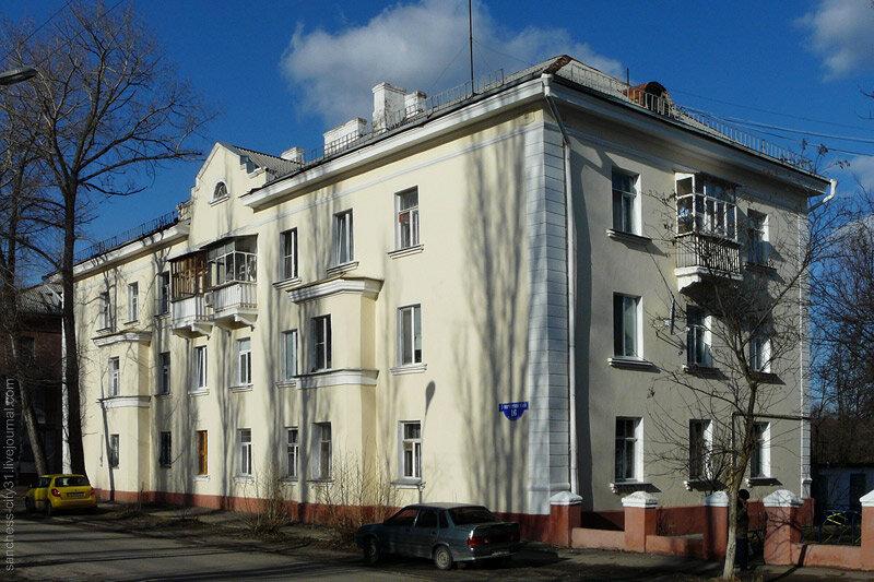 Жилой дом на 1-м Мичкринском. Фото Sanchess, 2012