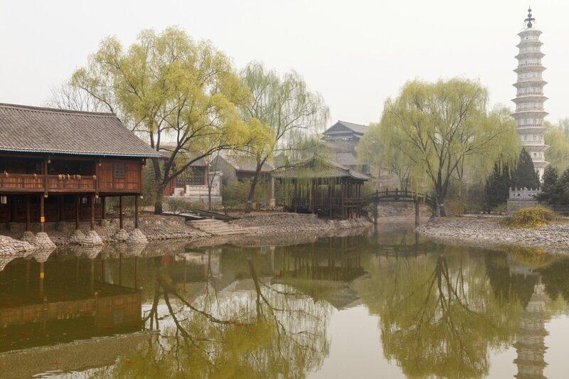 Озеро Феникса, парк национальностей, Пекин