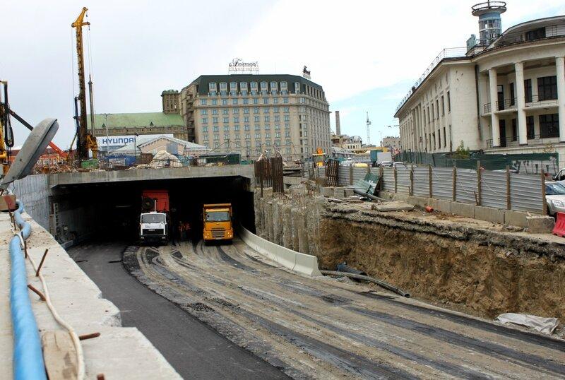 тоннель почтовая площадь киев