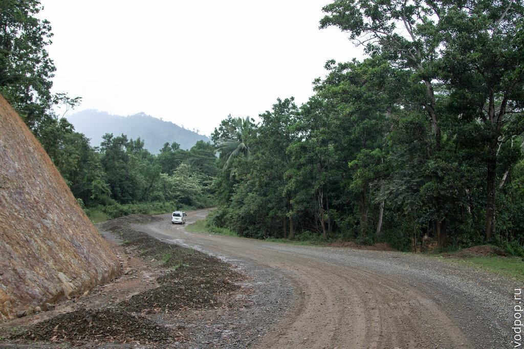 Дорога на Филиппинах