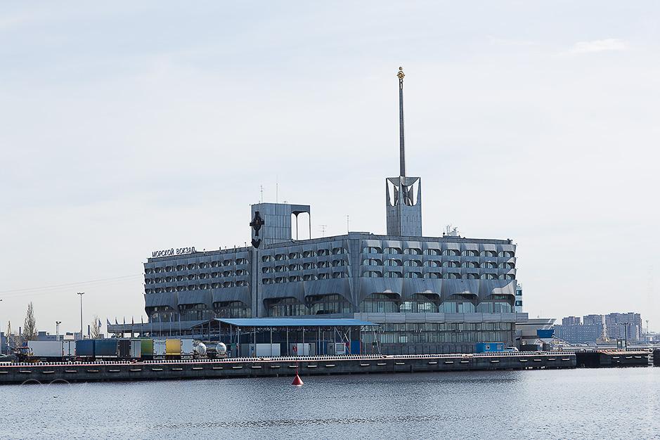 Морской вокзал в Ленэкспо