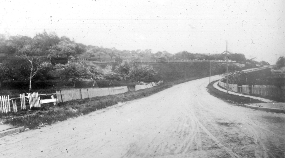 1887. Бекон-стрит к востоку от площади Вашингтона
