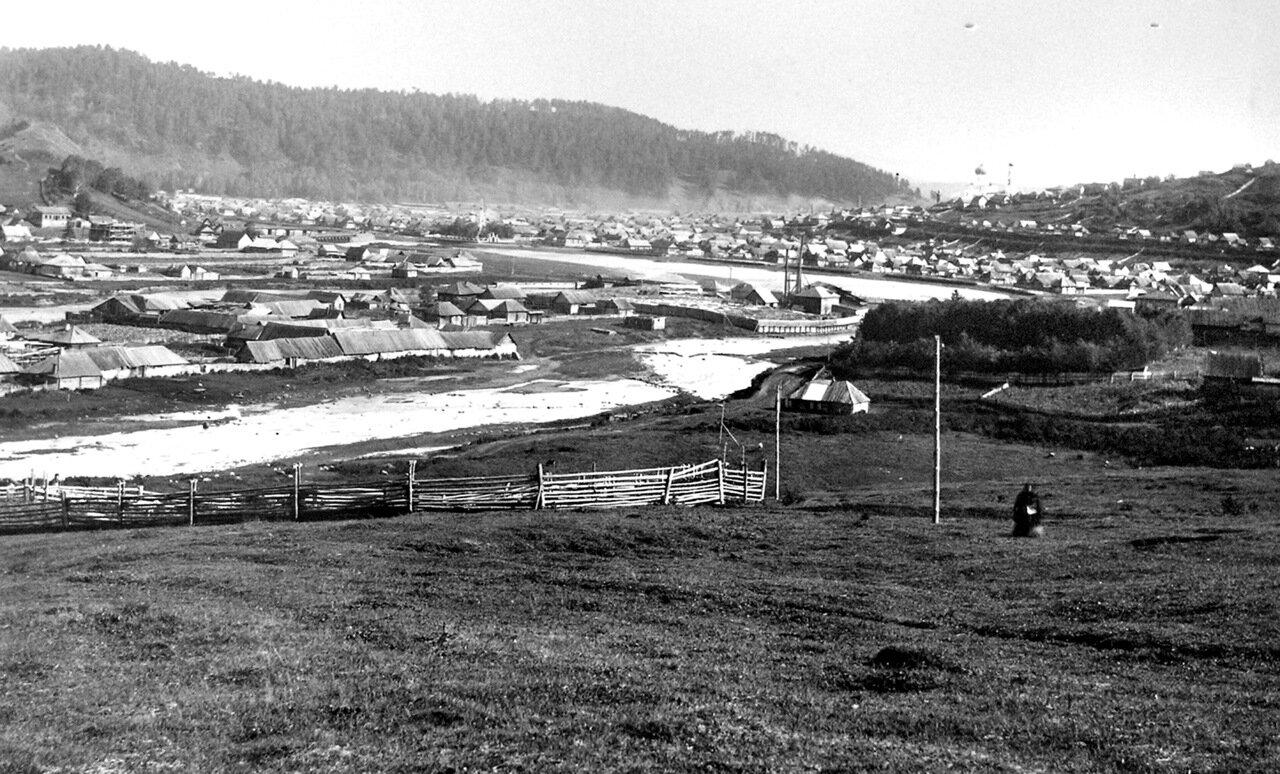 1890-е. Вид на Косотур и нижнезаводской пруд.