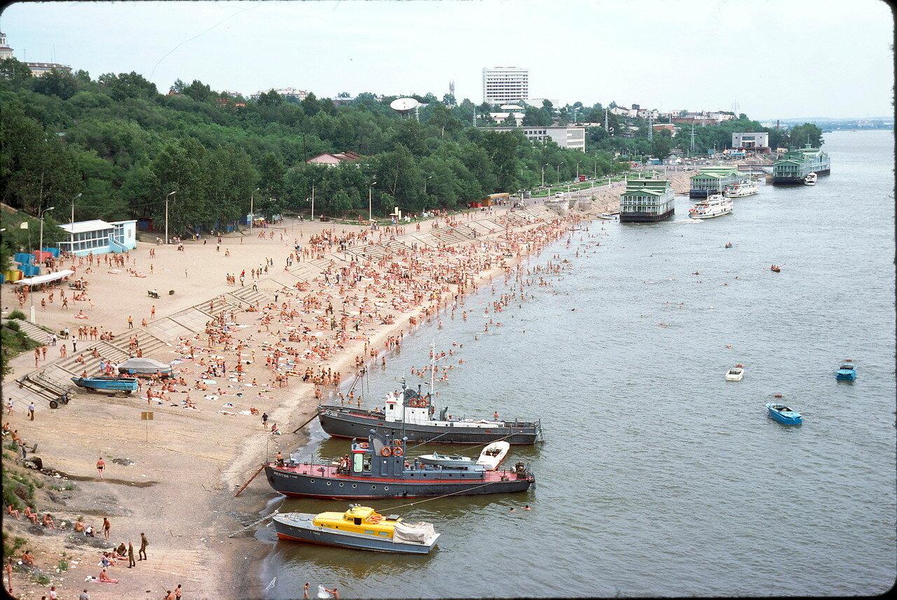 На хабаровском пляже