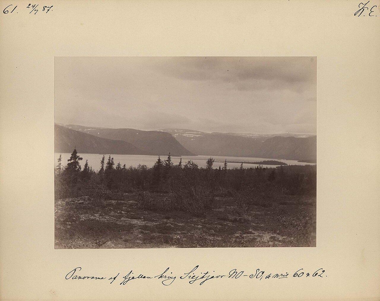 24.7.1887.  Панорама местности