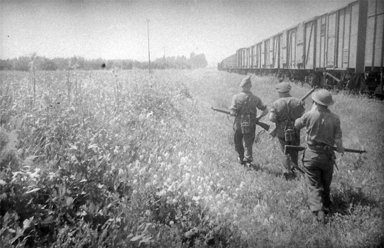 1948. Лагерь Рош-ха-Аин. Нападение на поезд.
