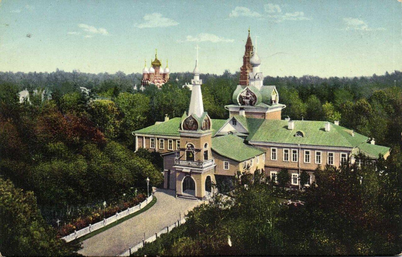 Троице-Сергиевская Лавра. Церковь с скиту Успения пр. Богородицы