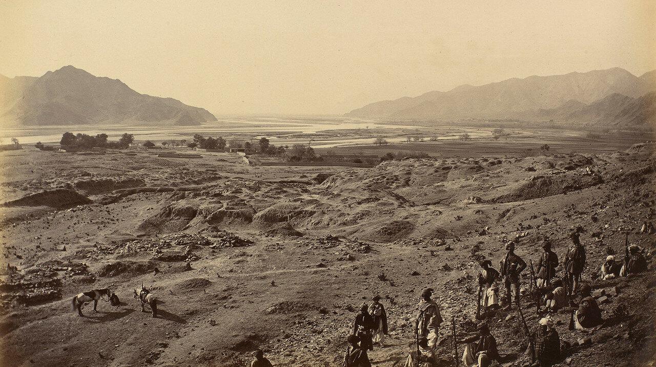 Вид на реку Кабул из Лалпура
