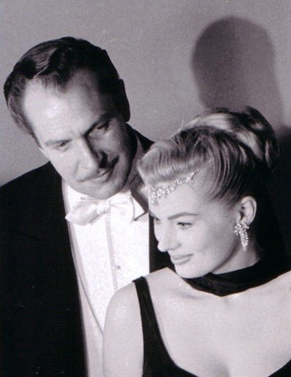 Anita Ekberg and Vincent Price at the Academy awards.jpg