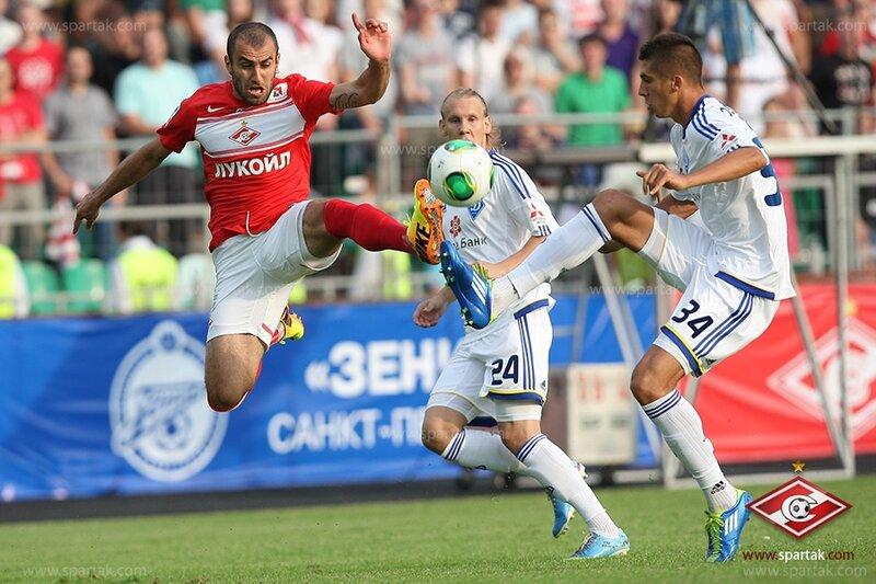 «Спартак» vs «Динамо» (Киев) 0:1 Объединенный турнир 2013 (Фото)