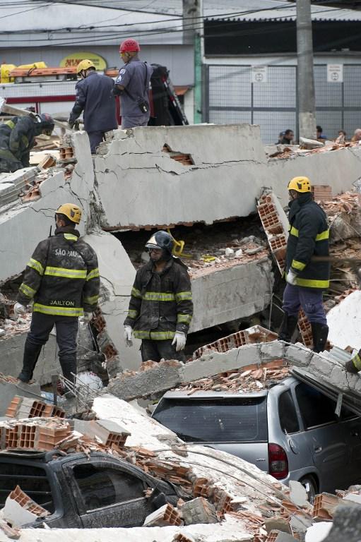 BRAZIL-ACCIDENT-BUILDING