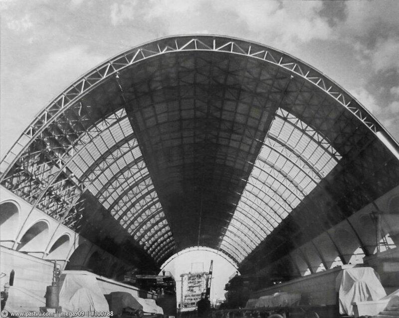 Подготовка к открытию, Павильон Механизация и электрификация сельского хозяйства СССР, 1939 г.