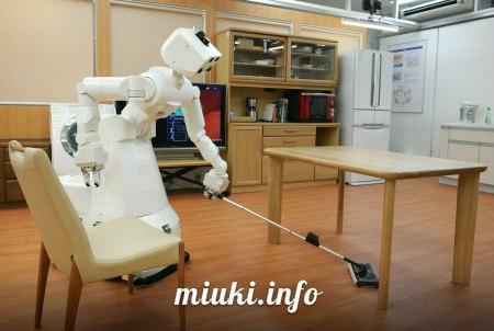 Японский робот-домработница
