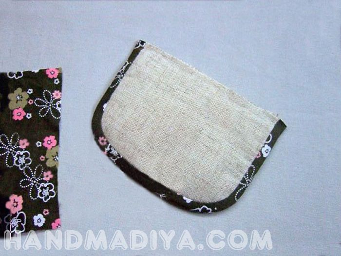 Шьем компактную сумочку. Sew a compact bag with two compartments