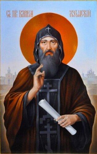 Преподобный Варлаам Хутынский, чудотворец (†1192)