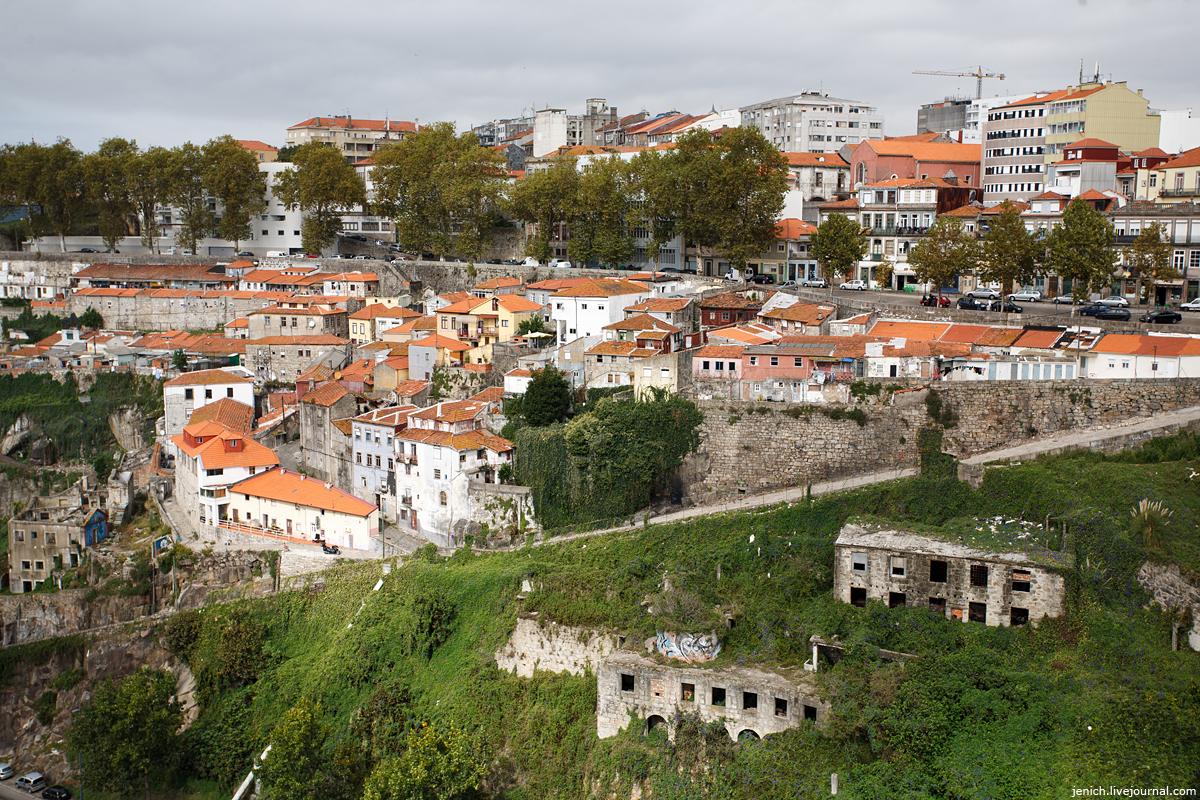 фото, фотографии, Порту, мост, трущобы