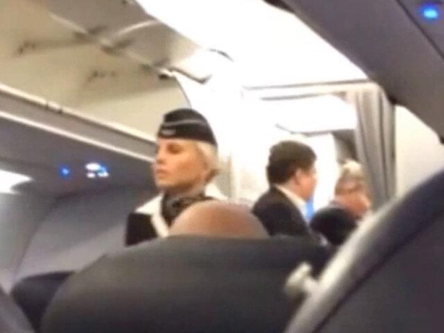 Депутата от Едра сняли с рейса Аэрофлота за дебош (+видео)