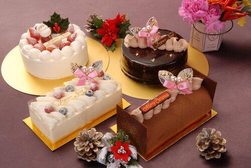новогодняя торты и пирожные с фото