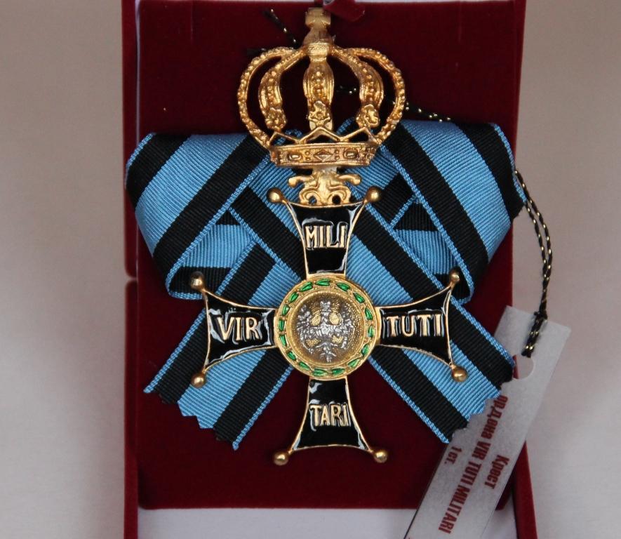 Крест ордена ВирТути Милитари 1 ст.