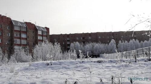 Фото города Инта №6110  Дзержинского 21а и Куратова 24 17.10.2013_11:31