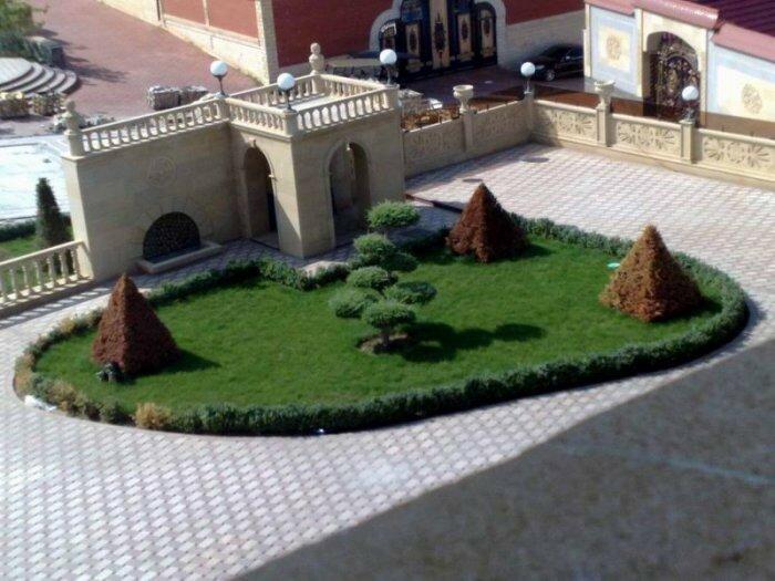 Новый дом Рамзана Кадырова (фото)