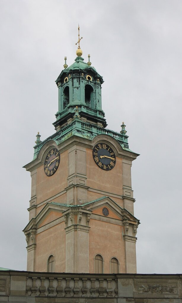 Stockholm. The Cathedral (Church of St. Nicholas. Sankt Nikolai kyrka)