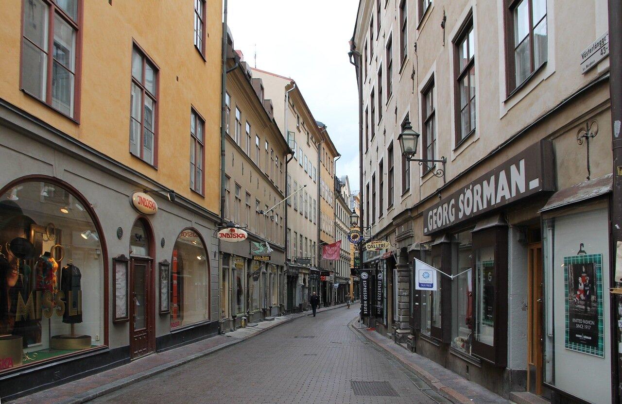 Stockholm, Gamla stan Västerlånggatan
